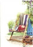 Blank Card Male Deck chair