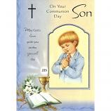 Son Communion - Boy Praying