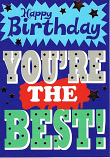 Male Birthday - You're The Best