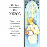 Godson Confirmation - Boy Reading