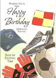 Male Birthday Football