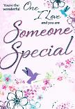 One I Love Birthday Female - Sparkle Wording