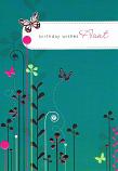 Aunt Birthday - Butterflies