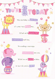 Girl Age 1 - 4 Animals
