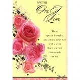 One I Love Birthday - Roses