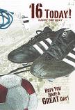 Boy Age 16 - Football Boots