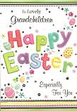 Grandchildren Easter Happy Easter