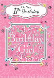 Girl Age 17 - Birthday Girl