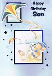 Son Birthday Large - Kite