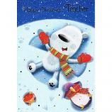 Teacher Xmas - White Bear