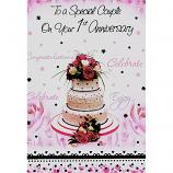 1st Anniversary - Wedding Cake
