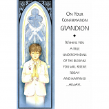 Grandson Confirmation - Boy Praying