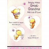 Great-Grandma Birthday - 3 Bears