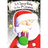 Babys 1st Xmas - Father Xmas