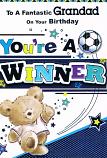 Grandad Birthday - You're A Winner