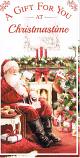 Xmas Money Wallet - Santa/Sitting