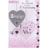 On Our 1st Anniversary - Lge Happy Ever After