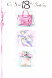 18th Birthday - Female Bag/Shoes