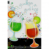 Goodbye & Good Luck - 2 Glasses