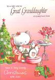 Great Granddaughter Xmas Bear Book