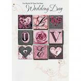 Wedding Day - Lge 9 Squares