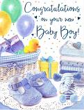 Baby Boy - Balloons