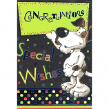 Congratulations - Cute Dog