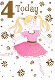Girl Age 4 - Ballet Dancer