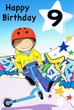 Boy Age 9 - Scooter