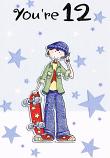 Boy Age 12 - Boy Skateboard