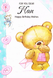 Nan Birthday - Brown Bear