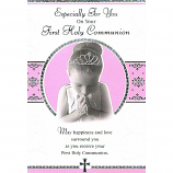 First Communion - F Girl Praying