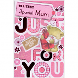 Mother's Day Mum - Lge Just For You Bear