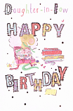 Daughter-in-law Birthday Large - Pattern Wording