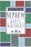 Nephew Birthday - Coloured Squares