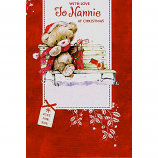 Nannie Xmas - Bear/Bench