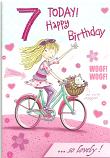 Girl age 7 Girl Bike