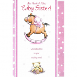 Birth Baby Sister - Rocking Horse