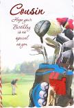Cousin Birthday - Golf Clubs