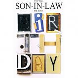Son-In-Law Birthday - Lge Birthday