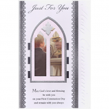 First Communion - Lge Boy/Window