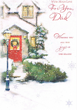 Dad Xmas - Red Door/Lampost