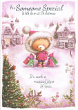 Someone Special Xmas Large - Bear Bags