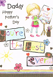 Fathers Day Daddy - You're The Best