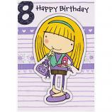 Girl Age 8 - Girl/Bag