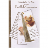First Communion - Lge Gold Tag