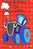 Son Birthday - Tractor