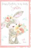 Sister Birthday Large - Rabbit