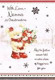 Nanna Xmas - Bear Scarf