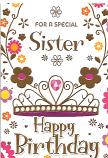 Sister Birthday Gold Sister